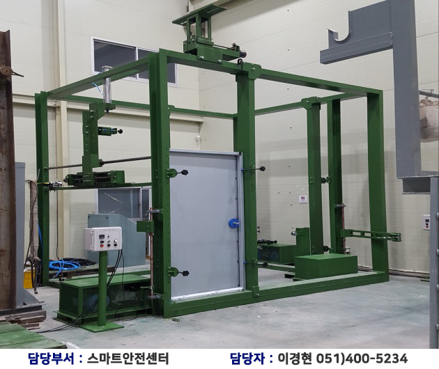 Large door set tester