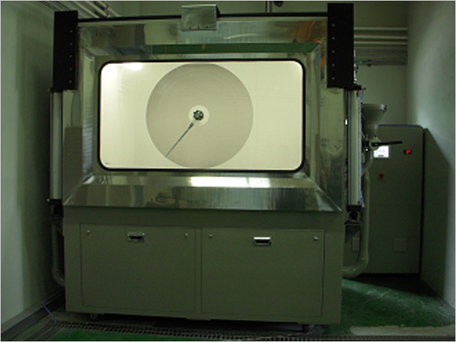 Large dust tester